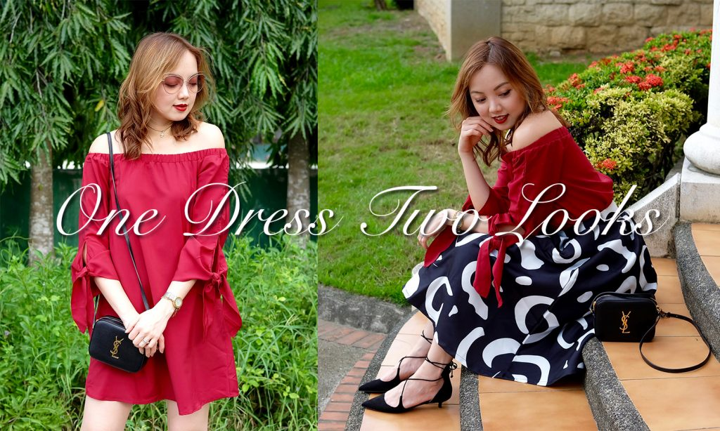two ways to wear your dress