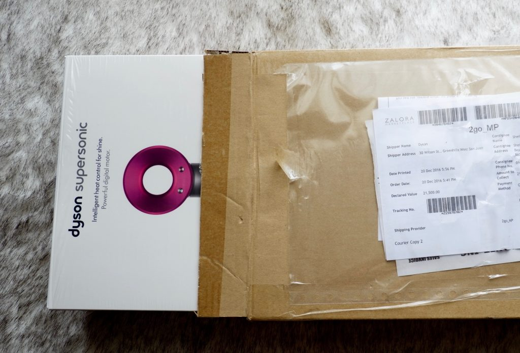 Dyson Supersonic unboxing
